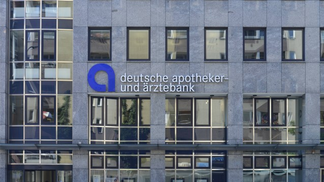 Auf Empfehlung der Europäischen Zentralbank zahlt die Apobank für 2019 nur eine Dividende von 2 Prozent aus, und das erst im kommenden Jahr.(m / Foto: imago images / Schöning)