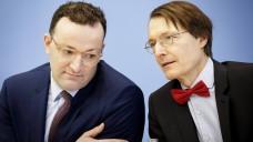 Einspruch! Laut dem SPD-Gesundheitsexperten Karl Lauterbach hat das Justizministerium Bedenken, was das von Jens Spahn geplante Rx-Boni-Verbot im SGB V betrifft. Vielmehr müsse es begrenzte Rx-Boni geben. (c / Foto: imago images)