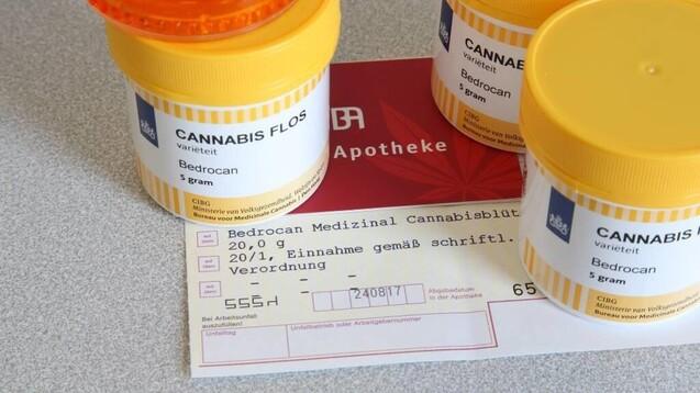 Viele Apotheken haben Cannabis-Rezepte wegen Fehlern im Hash-Code zurückbekommen. (c / Foto: IMAGO / epd)
