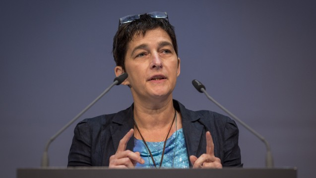 Barbara Steffens ist eine Freundin der Apotheke vor Ort. Bei einer Bundesinisitative für ein Rx-Versandhandelsverbot wäre sie dabei. (Foto: Schelbert)