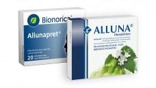 Allunapret wird Alluna. Alte Bionorica-Packungen dürfen aber in den Apotheken noch abverkauft werden. (Foto: Bionorica | Repha)