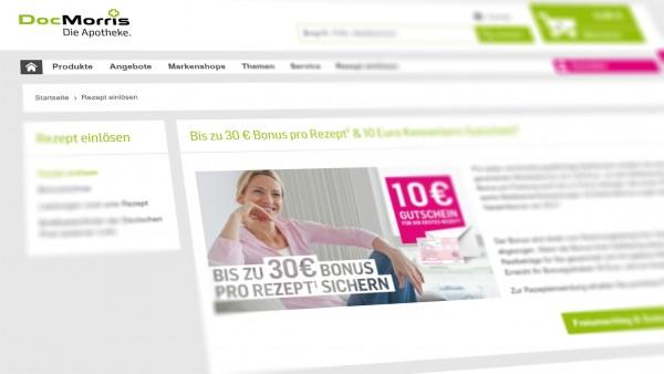 DocMorris streicht Rx-Boni bei Plattform-Rezepten