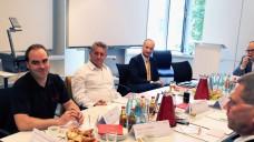 ABDA-Präsident Schmidt betont bei den Stuttgarter Gesprächen, dass Medikationsmanagement eine freiwillige Leistung jeder Apotheke ist. (Foto: diz/DAZ)