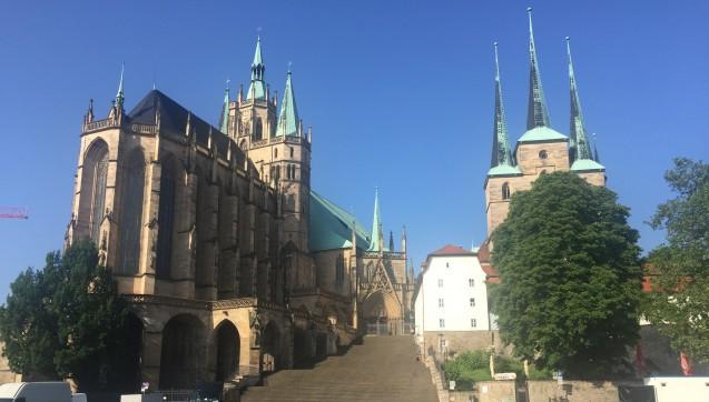 Die Landeshauptstadt Erfurt war dieses Jahr der Austragungsort des Thüringer Apothekertages. (Foto: jb)