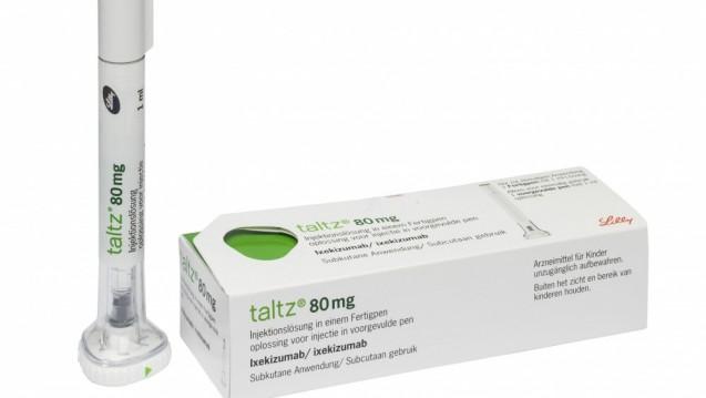 Taltz kann vermutlich demnächst auch beiaktiver Psoriasis-Arthritis eingesetzt werden. (Foto:Lilly)