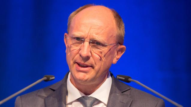Jörg Wieczorek wurde als Vorsitzender des Bundesverbands der Arzneimittel-Hersteller bestätigt. (Foto: Schelbert)