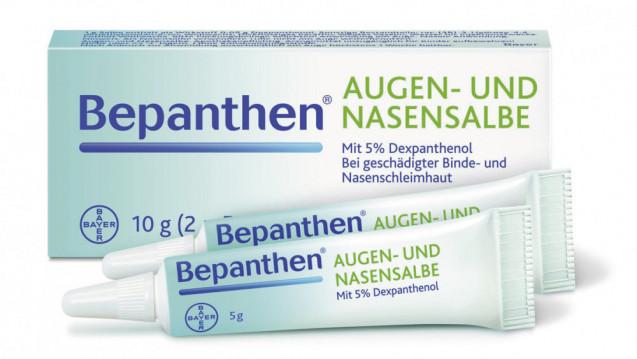 In den letzten Wochen gab es Lieferschwierigkeiten bei der Bepanthen Augen- und Nasensalbe, nun läuft die Produktion offenbar wieder reibungslos. (Foto: Bayer)