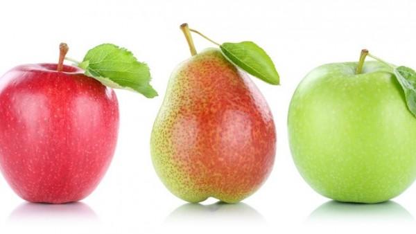 Von Äpfeln und Birnen