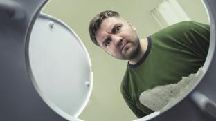 Ein Geist in der Toilette