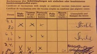 Tetanus-Impfstoffe im Sprechstundenbedarf