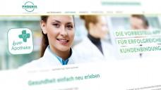 """Der Pharmahändler Phoenix startet eine bundesweite Plakat-Kampagne, um für die unternehmenseigene Bestell-App """"deine Apotheke"""" zu werben.(c / Foto: Screenshot: DAZ.online)"""