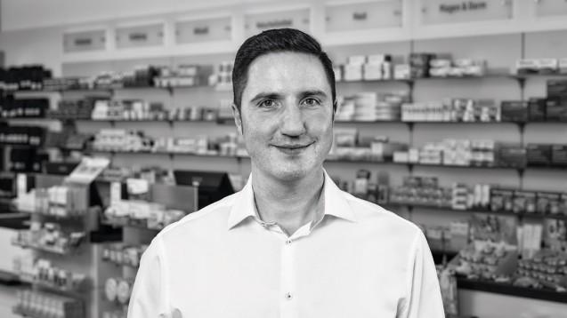 Johannes Ertelt, Apotheker aus Bisingen (© CGM)