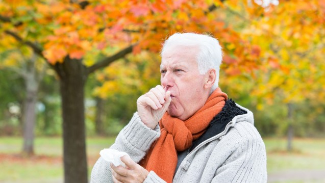 Weniger Exazerbationen bei COPD-Patienten durch prophylaktische Antibiose. (c / Foto: drubig-photo / stock.adobe.com)