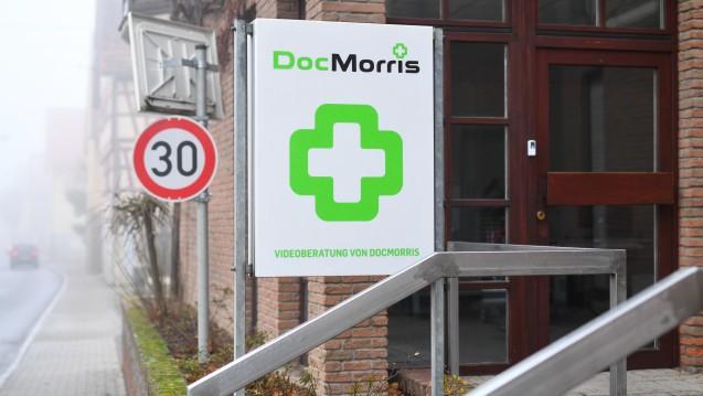 Nebel in Hüffenhardt: Wie geht es mit dem DocMorris-Standort weiter? (Foto: dpa)