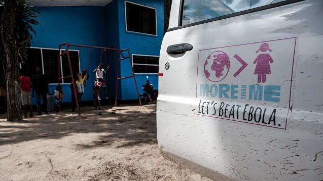 Ebola – trotz Impfstoff ist die Erkrankung im Kongo kaum in den Griff zu bekommen. (c / Foto: picture alliance/Daniel van Moll)