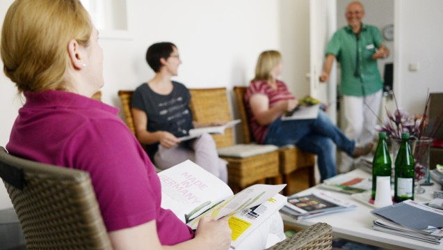 DocMorris-Infos im Wartezimmer: In Nordrhein kooperieren DocMorris und die Hausärzte im Rahmen einer Aufklärungskampagne zum Thema Impfen. (Foto: dpa)