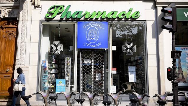 Bald ein häufiges Bild? Der französische Rechnungshof will den Apothekenmarkt mit Absicht kaput sparen. (Foto: Imago)