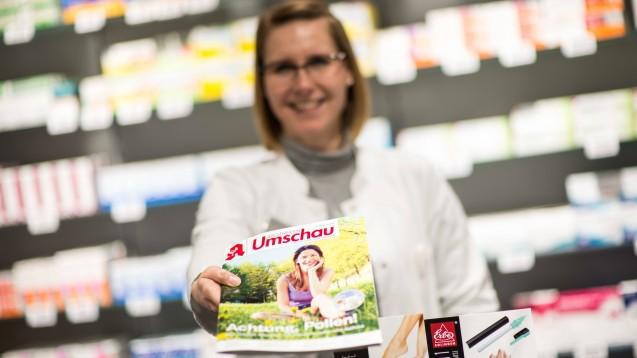 Musterkündigungen und Abbestell-Faxe von Noweda für die Apotheken Umschau? Diesen Vorwurf erhebt eine Mitarbeiterin des Wort & Bild-Verlages zumindest indirekt. Was sagt die Noweda dazu? (c / Foto: imago images / Steinert)