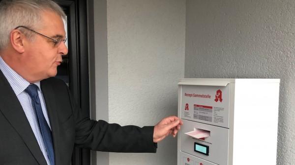 Kammerpräsident betreibt digitale Rezeptsammelstelle