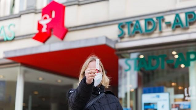 In Hessen steht für die Kommunen eine Muster-Allgemeinverfügung bereit, um u. a. Apotheken mit Schnelltests nach der Coronavirus-Testverordnung zu beauftragen. (Foto: IMAGO / MedienServiceMüller)
