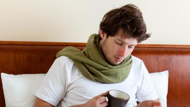 Halsschmerzen sind meist selbstlimitierend, die meisten Patienten wünschen sich jedoch Symptomlinderung.  (Foto: Photographee.eu / Fotolia)