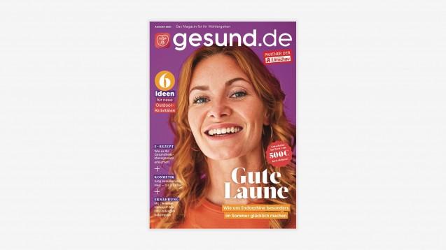 Ab August erweitert der Wort & Bild Verlag sein Kundenzeitschriftenangebot mit gesund.de und will damit vor allem junge und digital-affine Leserinnen gewinnen. (x / Foto: Wort & Bild Verlag)