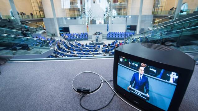 Am vergangenen Freitag debattierte der Deutsche Bundestag über Einschränkungen in der Corona-Pandemie. (m / Foto: imago images / Christian Spicker)