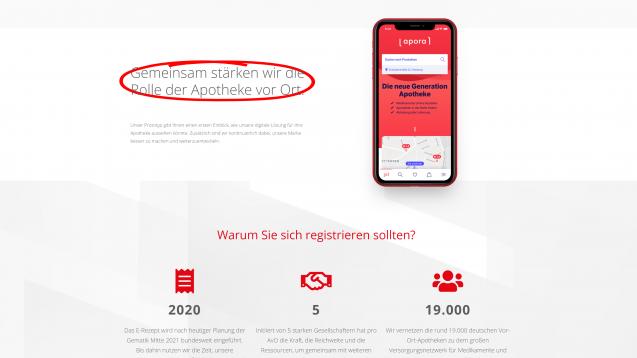 (Screenshot: pro-avo.de)