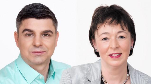Die ADEXA-Vorsitzenden Andreas May und Tanja Kratt streiten für eine Gehaltssteigerung für die Apotheken-Angestellten. (Foto: Adexa)