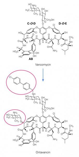 Bild 177494: 05_Formel_Antibiotika_Glykopeptid