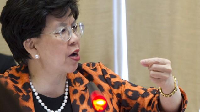 Zulassungsstandards dürften nicht abgesenkt werden, forderte die WHO-Chefin Margaret Chan. (Foto: WHO)