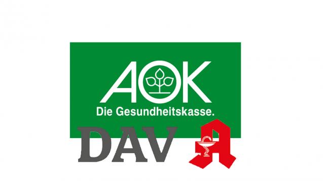 DAV und AOK BaWü halten die Importquote nicht mehr für zeitgemäß. (Logos: DAV/AOK; Montage:jh/daz)