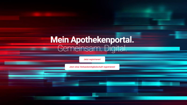 Seit Kurzem können sich auch Nicht-Verbandsmitgliederauf dem DAV-Portal mein-apothekenportal.de registrieren. (Screenshot: www.mein-apothekenportal.de)