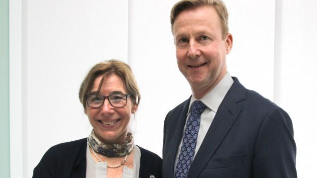 In Westfalen-Lippe wurde die bisherige Kammerpräsidentin Gabriele Regina Overwiening in ihrem Amt bestätigt. Ebenfalls im Amt bestätigt wurde Frank Dieckerhoff als Vizepräsident. (m / Foto: AKWL)