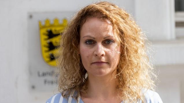 Felicitas Rohrer hat in der juristischen Auseinandersetzung mit Bayer einen langen Atem bewiesen. Doch die Gerichte wollen ihrer Klage nicht stattgeben. (Foto: picture alliance/dpa | Philipp von Ditfurth)