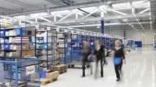 Das neue Logistikzentrum der Gehe in Rostock-Laage soll laut NDR die modernste aller Gehe-Anlagen sein. (c / Foto: Gehe)