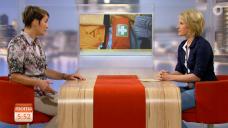 TV-Premiere im ARD/ZDF-Morgenmagazin: Apothekerin Iris Zeien beantwortete Fragen zur Reiseapotheke. (Screenshot: daserste.de)