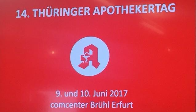 Der Thüringer Apothekertag fand zum 14.Mal statt. Er wird alle zwei Jahre ausgetragen an wechselnden Orten. (Foto: jb)