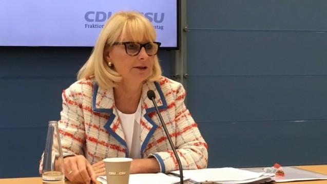 Die gesundheitspolitische Sprecherin der Unionsfraktion, Karin Maag, sieht nach dem Bundesratsbeschluss zum Rx-Versandverbot Redebedarf. (m / Foto: Inken Rutz)