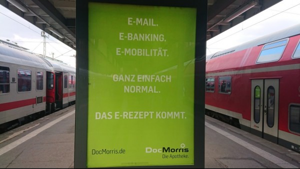In freudiger Erwartung: DocMorris und das E-Rezept