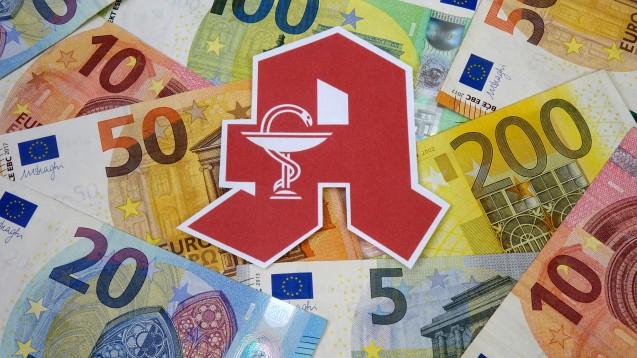 Hilfe für Apotheken in Finanznot: Der MVDA (Marketing Verein Deutscher Apotheker) hofft auf einen Rettungsschirm, der besonders stark betroffenen Betrieben zugutekommen soll. (c / Foto: imago images / Steinach)