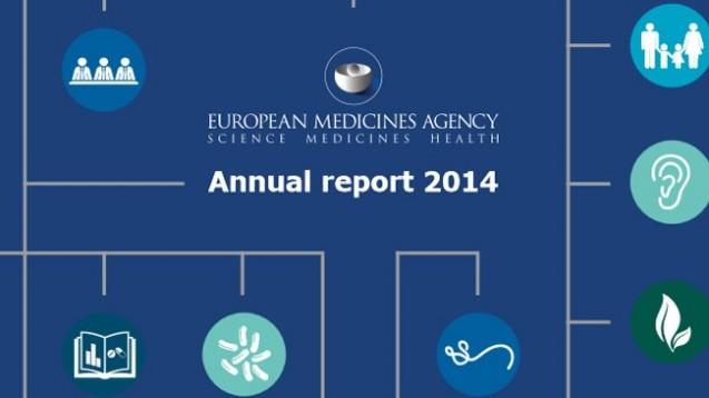 Die EMA hat letzte Woche ihren Jahresbericht 2014 veröffentlicht. (Bild: EMA)
