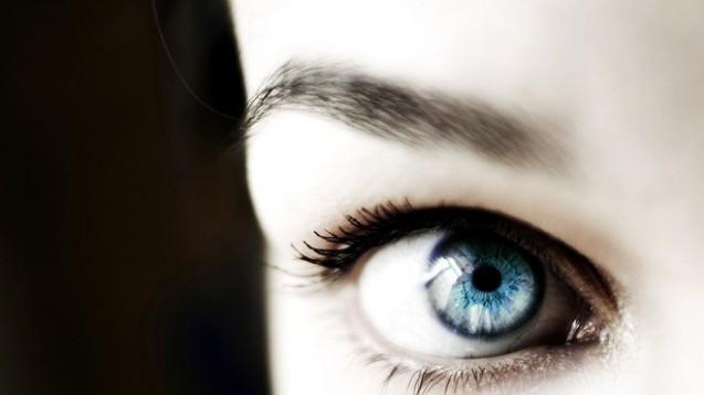 Ungetrübt: Die Augenlinse erhält ihre Brechkraft dank hochkonzentrierter Proteine. Diese müssen bis ins hohe Alter in gelöstem Zustand bleiben. (Foto: Jeremias Münch / Fotolia)