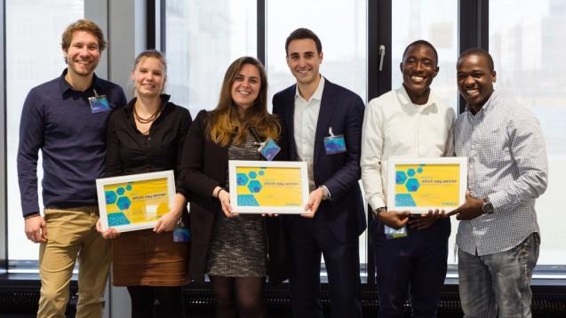Drei Gründerteams, drei innovative Ideen. (Foto: Unternehmen)
