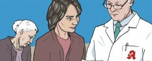 Eine multimorbide geriatrische Patientin