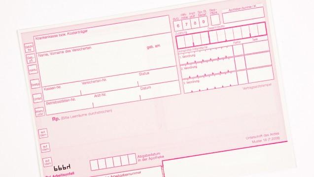 Welche Angaben müssen auf ein Rezept? Korrekt ausgestellte Verordnungen erhöhen die Patientensicherheit, fand die Uniklinik Heidelberg. (Foto: seen0001 / Fotolia)