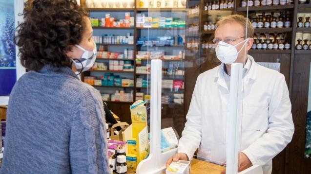Die Apotheken waren auch im Pandemie-Jahr immer geöffnet – und haben viel geleistet. Der Dank hält sich bisher in Grenzen. (Foto: Schelbert)