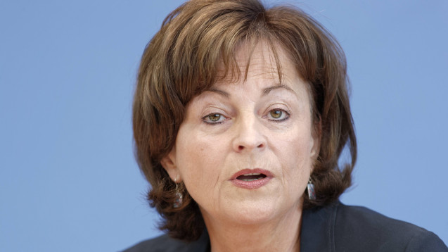 Die Drogenbeauftragte Marlene Mortler überrascht mit einer neuen Äußerung zur Cannabis-Entkriminalisierung (Foto: Imago).