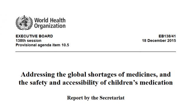 Auch die WHO hat das Thema auf der Agenda. (Foto: screenshot / daz.online)