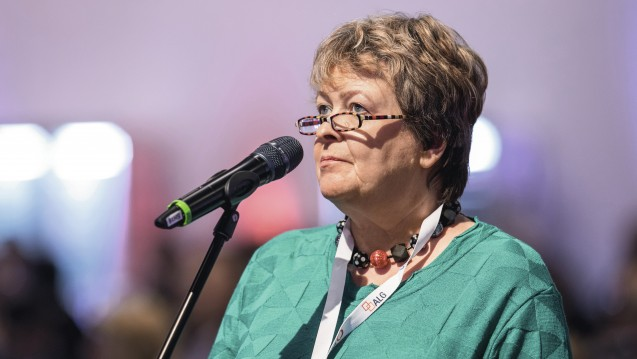 Kammerpräsidentin Magdalene Linz aus Niedersachsen beschwert sich darüber, dass die Kassen aus ihrer Sicht zu viele Cannabis-Anträge von Patienten ablehnen. (Foto: Schelbert)